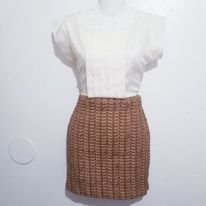 Guess thick knitted skirt